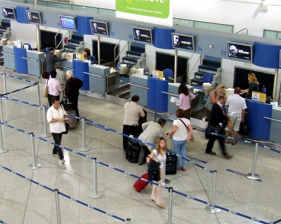 Check-in kisokos