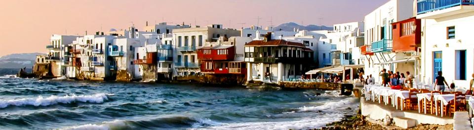 tengerparti város mikonosz