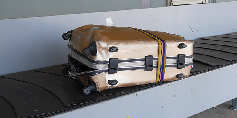 Sérült poggyász - mi a teendő?