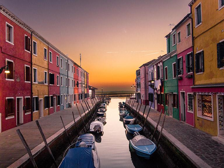 Városok első repüléshez: Velence