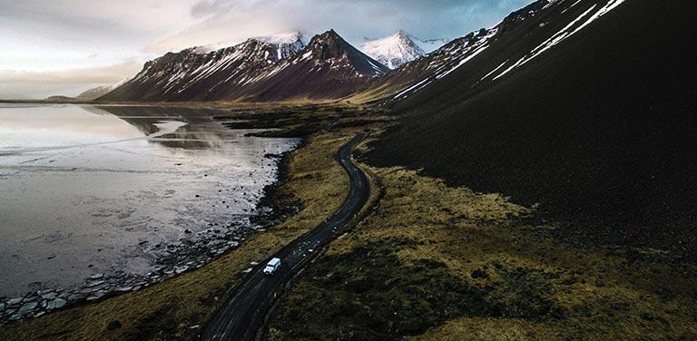 Izlandi látkép