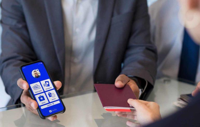 digitális útlevél - IATA