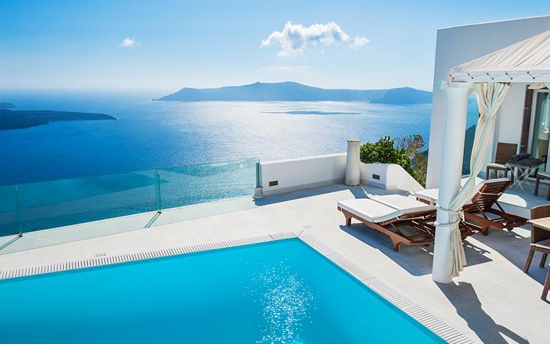 Páratlan szállások érhetőek el Görögországban