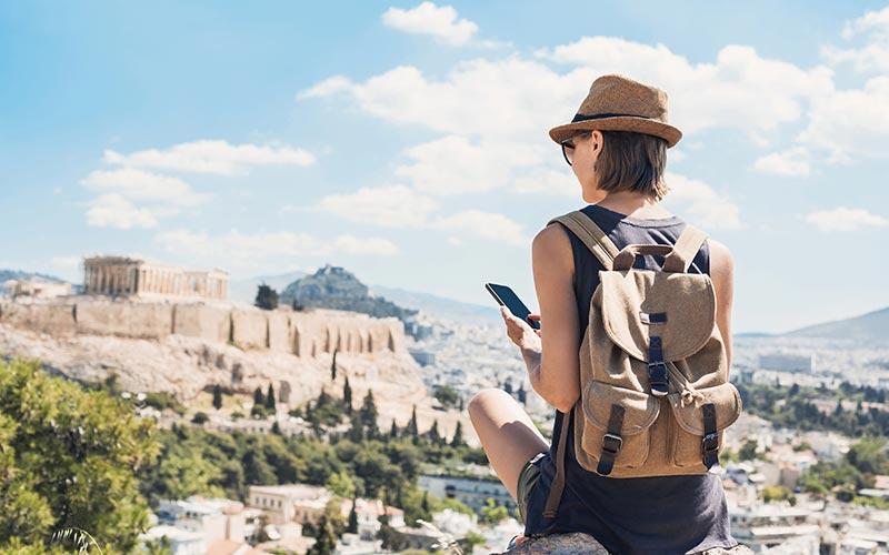 Athénba több légitársaság járatával is eljuthatunk Budapestről